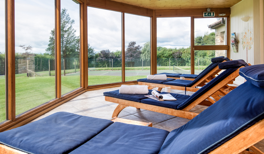 The Orangery, Beacon Hill Spa, Northumberland