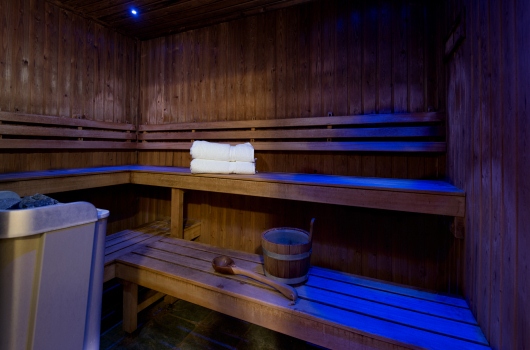 Sauna, Beacon Hill Spa, Northumberland